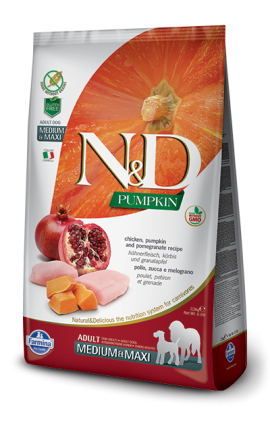 N&D Adult Medium-Maxi Chicken & Pomegranate 2,5 kg