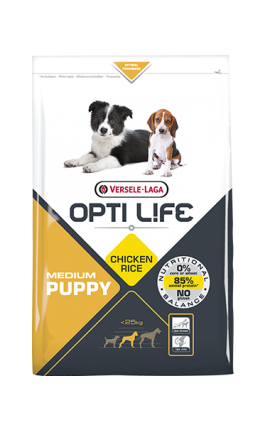 Opti Life Puppy Medium 2,5 kg