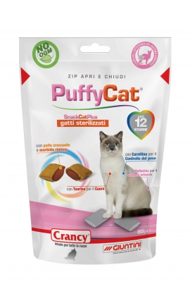 Crancy Puffy Cat Sterilized 60gr