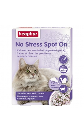 Beaphar No Stress Spot On για γάτες