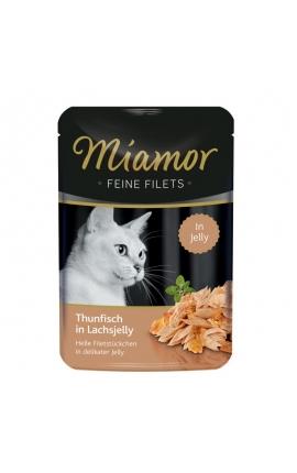 Miamor Feine Filets Jelly Τόνος σε Ζελέ Σολομού