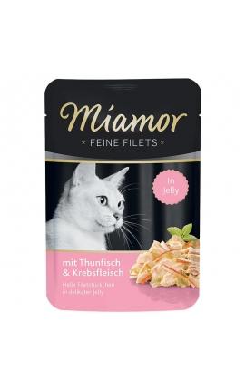 Miamor Feine Filets σε Ζελέ Τόνος & Καβούρι