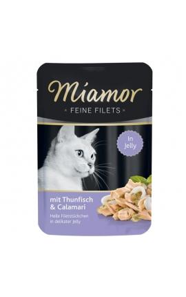 Miamor Feine Filets σε Ζελέ Τόνος & Καλαμάρι