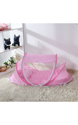 Pet Net Tent – Bed (Pink)