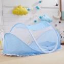 Pet Net Tent – Bed (Light Blue)