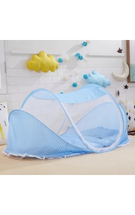 Pet Net Tent – Bed (Light Blue)