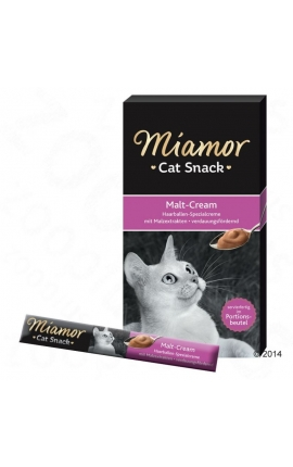 Miamor Cat Snack Malt-Cream 6 x 15 gr