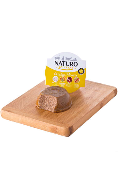 NATURO-Cat, Chicken Mousse 85gr