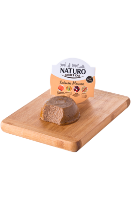 NATURO-Cat, Salmon Mousse 85gr