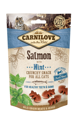 Carnilove Crunchy Snack - Salmon with Mint