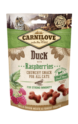 Carnilove Crunchy Snack - Duck with Raspberries