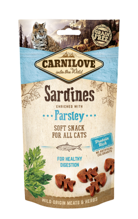 Carnilove Soft Snack - Sardines with Parsley
