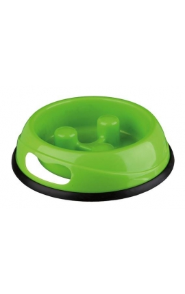 Trixie Slow Feed Plastic Bowl