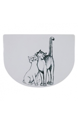 Trixie Place Mat Two Cats