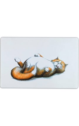 Trixie Place Mat Fat Cat