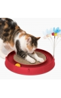 Catit Circuit Ball Toy with Scratch Pad