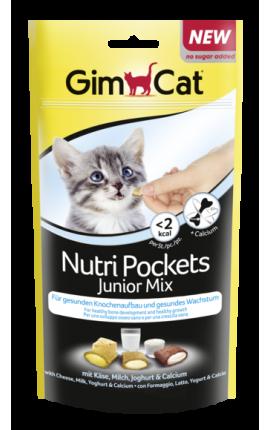 GimCat Nutri Pockets Junior Mix 60 g