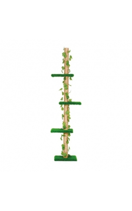 Leo Pet Cat Tree Edera Green