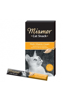 Miamor Cat Snack Multi-Vitamin Cream 6 x 15 gr