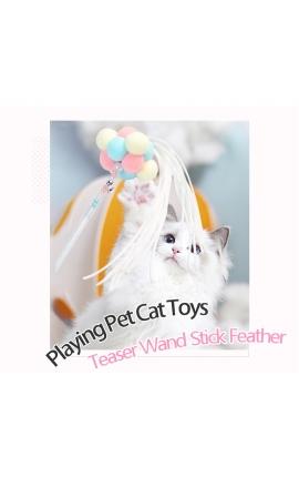 Cat Teaser Interactive Pom-Pom