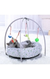Cat Bed and Activity Center