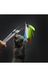 Cat Teaser Interactive Toy Feather