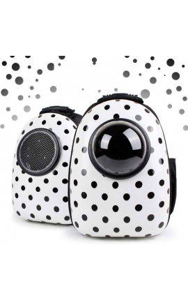 Pet Space Capsule Shaped Carrier Breathable