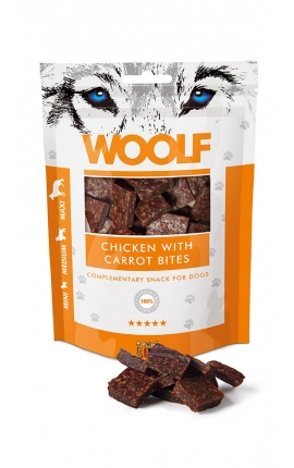 Woolf Chicken with Carrot Bites