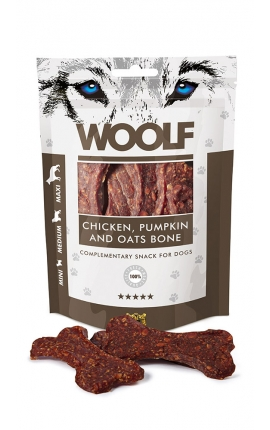 Woolf Chicken Pumpkin and Oats Bone