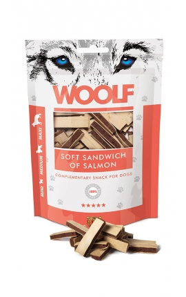 Woolf Soft Sandwich of Salmon