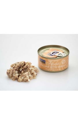 FISH 4 CATS Finest Sardine With Shrimp 70g