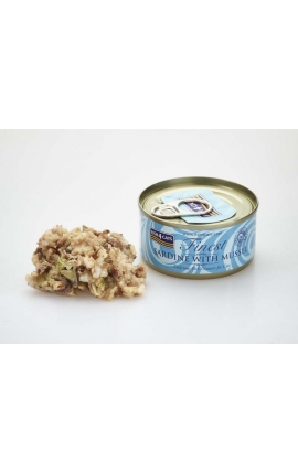 FISH 4 CATS Finest Sardine With Mussel 70g