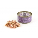 FISH 4 CATS Finest Tuna Fillet With Anchovy 70g
