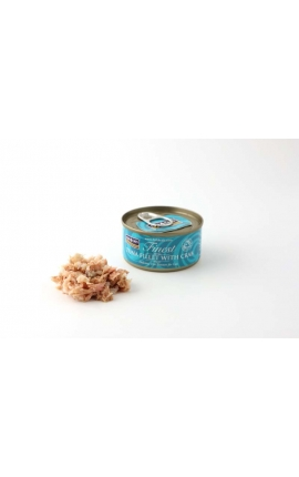 FISH 4 CATS Finest Tuna Fillet With Crab 70g
