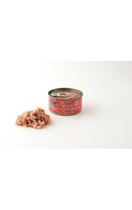 FISH 4 CATS Finest Tuna Fillet With Salmon 70g