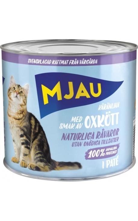 MJAU Πατέ Βοδινό 635gr