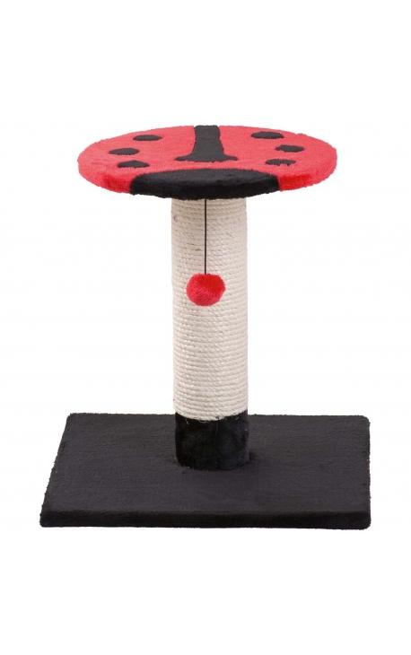 Flamingo Scratch Pole Beetle Red-Black