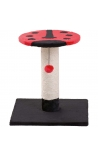 Flamingo Scratch Pole Beetle Red-Black