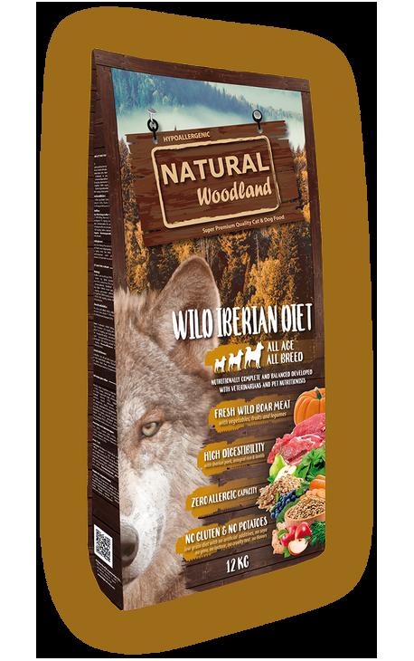 Natural Woodland Wild Iberian Diet 2kg