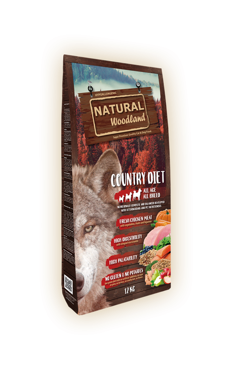 Natural Woodland Country Diet 12kg