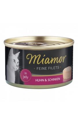 Miamor Feine Filets σε Ζελέ Κοτόπουλο & Ζαμπόν