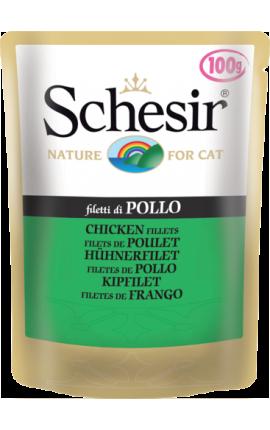 Schesir Pouch Φιλετάκια Κοτόπουλο 100g