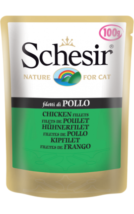 Schesir Φιλετάκια Κοτόπουλο 100g