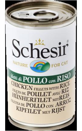 Schesir Κοτόπουλο & Ρύζι 140g