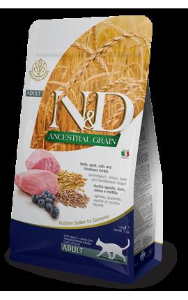 N&D Ancestral Grain Lamb & Blueberry 1,5 kg