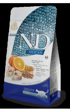 N&D Ocean Cod & Orange 1,5 kg
