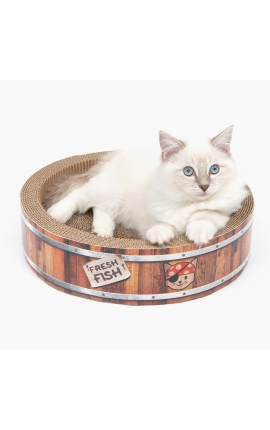 Catiit Pirates Barrel Scratcher – Small