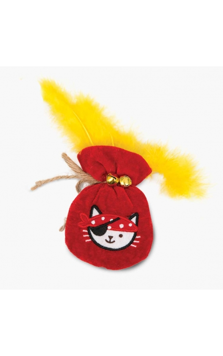 Catit Pirates Catnip Toy – Pouch of Gold