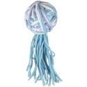 Flamingo Cat Yarn Ball with Tail