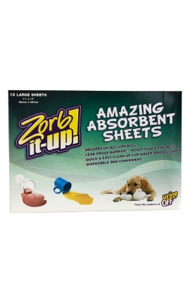 Urine Off Zorb-it Up Sheets